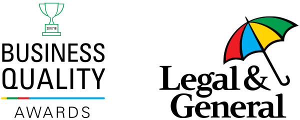 Legal & General Business Quality Awards 2017-18 - Highly Commended